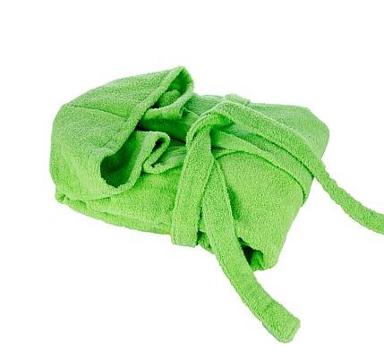 Зелен халат памук