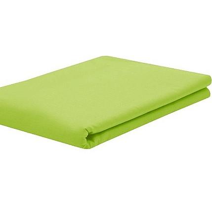 Долен чаршаф без ластик ранфорс – зелено