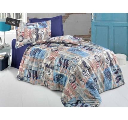 Българско спално бельо KOTVA от памук Ранфорс
