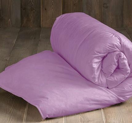 Капитонирана завивка от памук ранфорс в лилав цвят