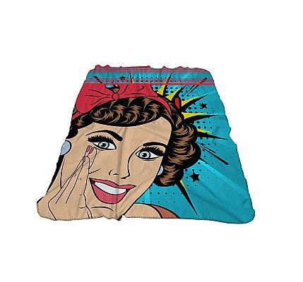 Детско одеяло Комикс 3Д