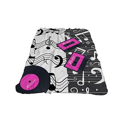 Детско одеяло Музика 3Д