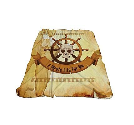 Детско одеяло Пирати 3Д