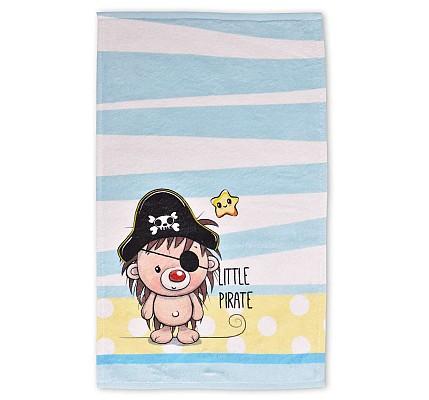 Детска хавлиена кърпа Малък Пират памук и полиестер