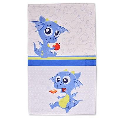 Детска хавлиена кърпа Огънче памук и полиестер