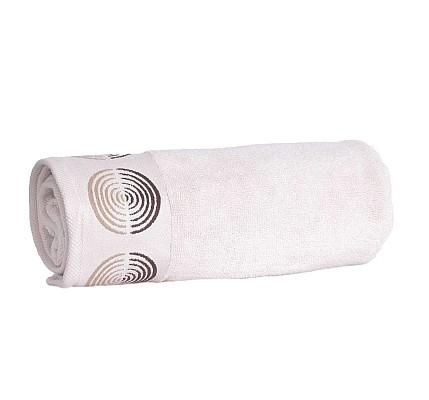 Луксозна Хавлиена кърпа Туист екрю от микропамук