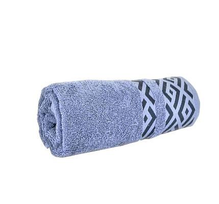 Памучена Хавлиена кърпа Алия в синьо