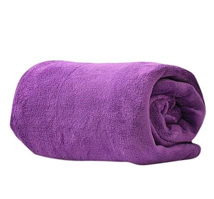 Лилаво одеяло микрофибър