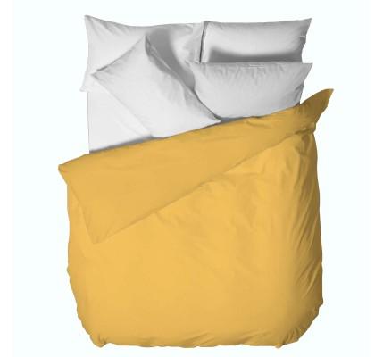Жълт Плик за завивка ранфорс памук