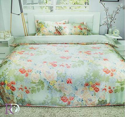 Луксозно спално бельо Комплект от Естествена Коприна Франческа