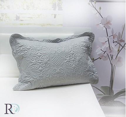 Декоративна Калъфка за възглавница Грета Сиво от полиестер