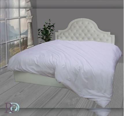 Плик за Завивка в бял цвят от памучен сатен