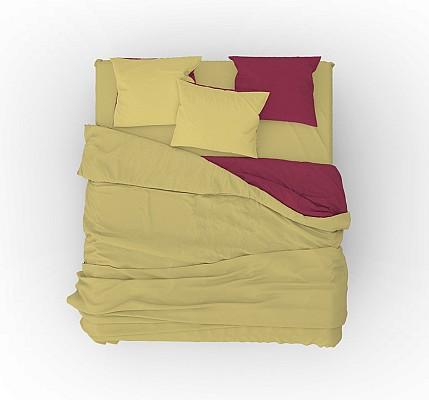 Дизайнерски спален комплект от 100% памук Red Corpus
