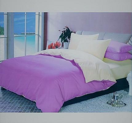Спално бельо Памук Flat Pink