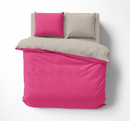 Комплект Спално бельо Памук Pink Ink
