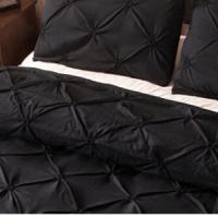 Черно спално бельо за вечен дизайн